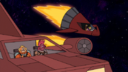 S8E15.190 Four Bounty Hunters in Their Ships