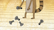 S6E08.072 Rigby Dropping the Sprinkler Heads