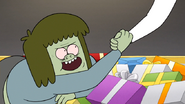 S6E14.104 Starla Giving Muscle Man a Hand