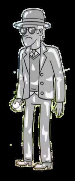 Silverr Dude