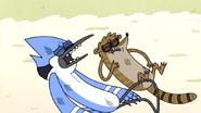 S4E19.52 Badly Beaten Mordecai & Rigby