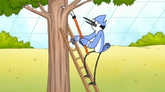 S7E29.021 Mordecai Pruning a Tree