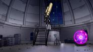 S7E31.140 Giant Telescope and Plasma Ball