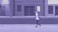 S3E25 Mordecai walking