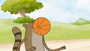 S5E10.047 Rigby Getting Hit in the Face with a Basketball