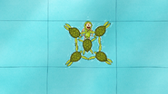 S6E15.010 Eileen Synchronized Swimming with Sea Turtles 04