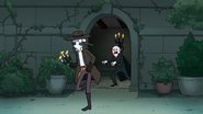 S8E19.213 Mordecai Running from the Vampire