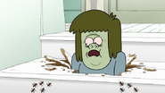 S7E31.048 Termites Crawling Towards Muscle Man