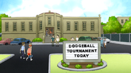 S5E15.07 Dodge Ball Tournament Location