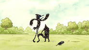 S3E35.145 Mordecai and Rigby After Being Hit by Tomatoes