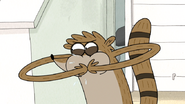 S6E06.036 Rigby Making Fart Noises