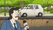 S8E01.011 News Reporter Losing His Car
