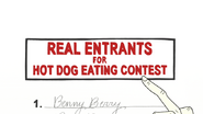 S4E34.089 Real Entrants for Hot Dog Eating Contest
