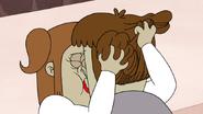S4E34.162 Starla Grabbing Muscle Man's Hair