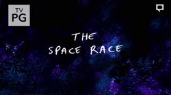 S8E13 The Space Race Title Card