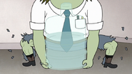 S7E25.110 Muscle Man's Legs Ripping His Pants