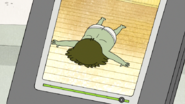 S6E02.022 Muscle Man Laying on the Ground