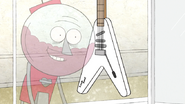 S5E21.08 A Signed Bruce Rock Guitar