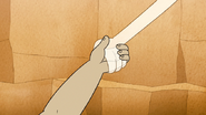 S6E02.142 Muscle Man Takes Hi-Five's Hand