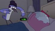 S5E20.048 Mordecai Setting Benson's Alarm Clock Wrong