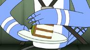 S6E20.157 Mordecai Touching the Cake