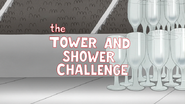 S6E14.079 The Tower and Shower Challenge