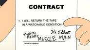S7E20.124 VHS Store Contract