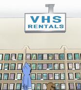 S8E04.002 VHS Rental