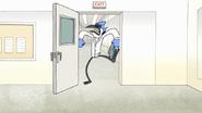 S7E29.155 Mordecai Kicking the Door Open