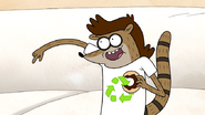 S7E20.010 Rigby Watching Donut Factory Holiday