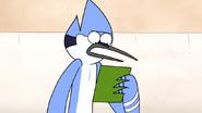 S6E20.033 Mordecai Reading the Invitation
