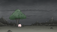 S8E07.162 Pops Cowering Under a Tree