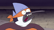 S7E09.311 Mordecai Screaming Because Rigby was Screaming