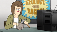 S7E36.313 Mrs. Kessler Pounding on a Rock