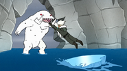 S8E20.169 Kai Jumping Towards the Snow Mammoth