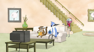 S4E20.017 Benson Asking What Mordecai and Rigby are Watching