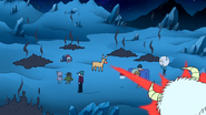 S8E23.106 Snow Monsters Being Destroyed