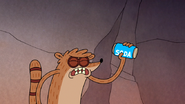S4E17.011 Rigby Shaking a Can of Soda