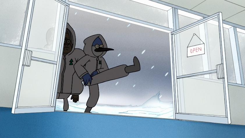 S8E20.005 Mordecai Kicking the Door Open.png & Image - S8E20.005 Mordecai Kicking the Door Open.png | Regular ... pezcame.com