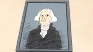 S6E21.036 George Washington Portrait