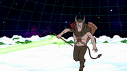 S8E23.474 Krampus Deflecting More Lasers