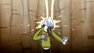 S6E10.036 Mordecai Getting Liquid Poured on Him