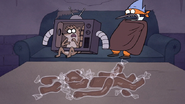 S7E09.327 Chocolate Body Parts in Front of Mordecai and Rigby