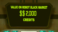 S8E02.096 Value on Robot Black Mart 2000 Credits