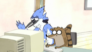 S3E25 Mordecai just wants to be alone right now