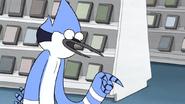 S3E34.228 Mordecai Explaining the Membership Card