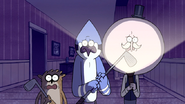 S5E08.123 Mordecai and Rigby with Golf Clubs