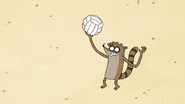 S7E01.097 Rigby Serving the Ball