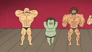S05E11Muscle Mans return to body building