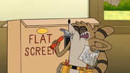 S6E07.067 Rigby Hitting Himself with a Hammer